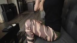 Mesmerizing perky teen on pov sex casting