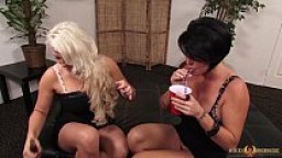 Busty Shay Fox eating her girlfriend Nikki Phoenixxx