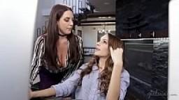 New intern caught on masturbation on her FIRST day! - Kimmy Granger&Angela White