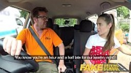 Fake Driving School Horny learners dirty secret suck and fuck session