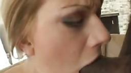Petite girl eat my cum