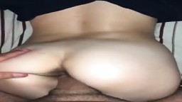 Wife with hairy pussy fucked from behind