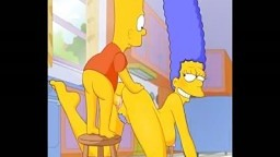 Simpsons Porn #1 Bart fuck Marge Cartoon Porn HD