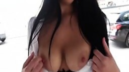 Mofos - Busty babe gets paid for sex