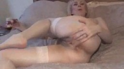 Mature Striptease and Toys