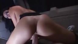 Street hooker Alektra anal sex mouth spunk