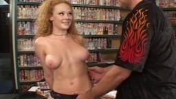 Audrey Hollander fucked in porn office