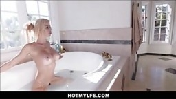 Big Tits Blonde MILF Step Mom Fucked By Sons Best Friend