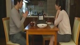 Japanese beautiful wife cheating husband with his boss